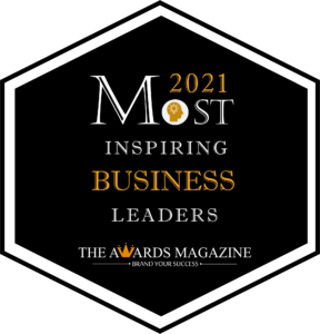 Most Inspiring Business :eaders of the Year 2021